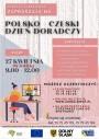 Plakat - polsko czeski DZIEŃ DORADCZY, który odbędzie się w dniu 27 kwietnia 2021 roku od godziny 9 do 12